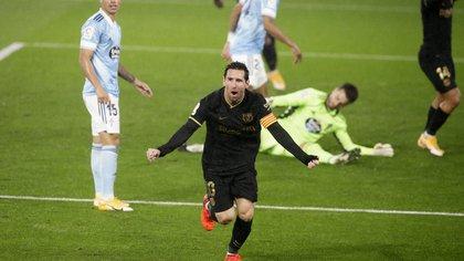 Barcelona le ganó al Celta de Vigo por 3-0