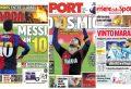 ¿Cómo reflejaron los medios europeos el homenaje de Messi a Maradona?