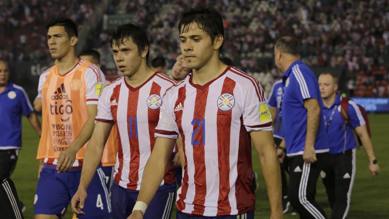 El apoyo de la selección paraguaya a los hermanos Romero