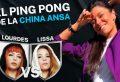 "#PingPong de ""La China"": Lourdes vs  Lissa."