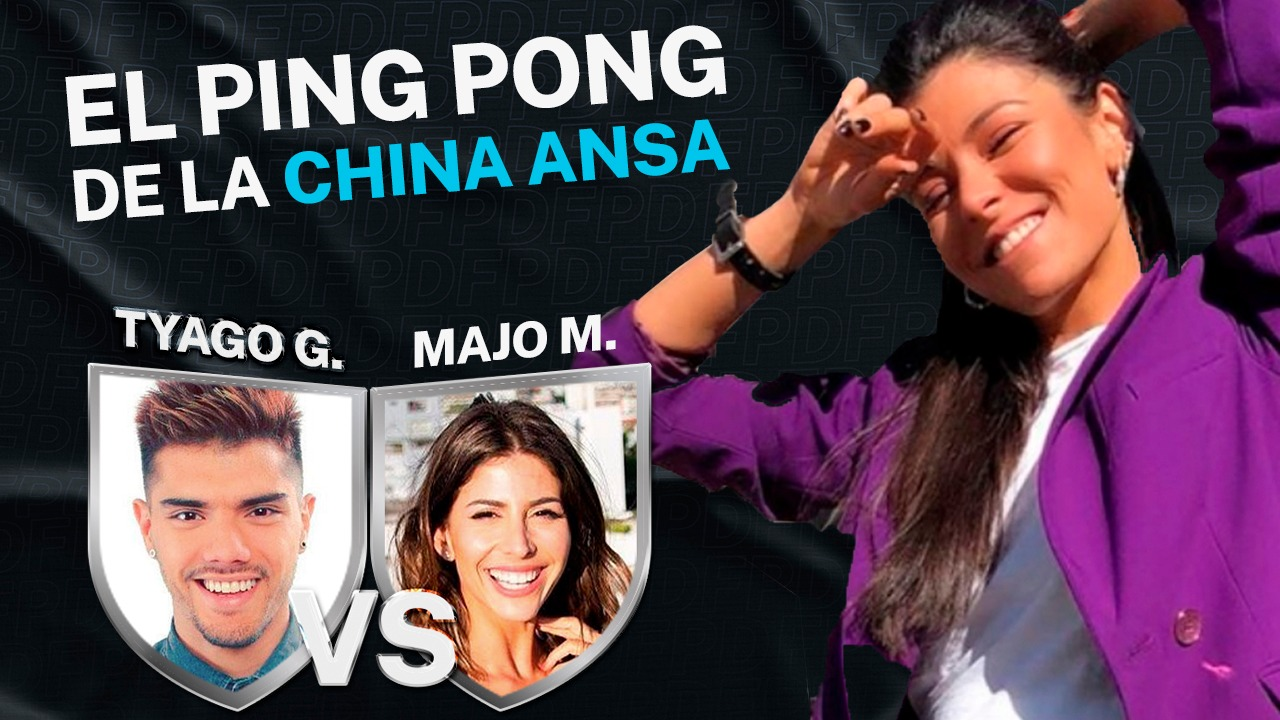 #PingPong de la China: Tyago Griffo vs Majo Martino