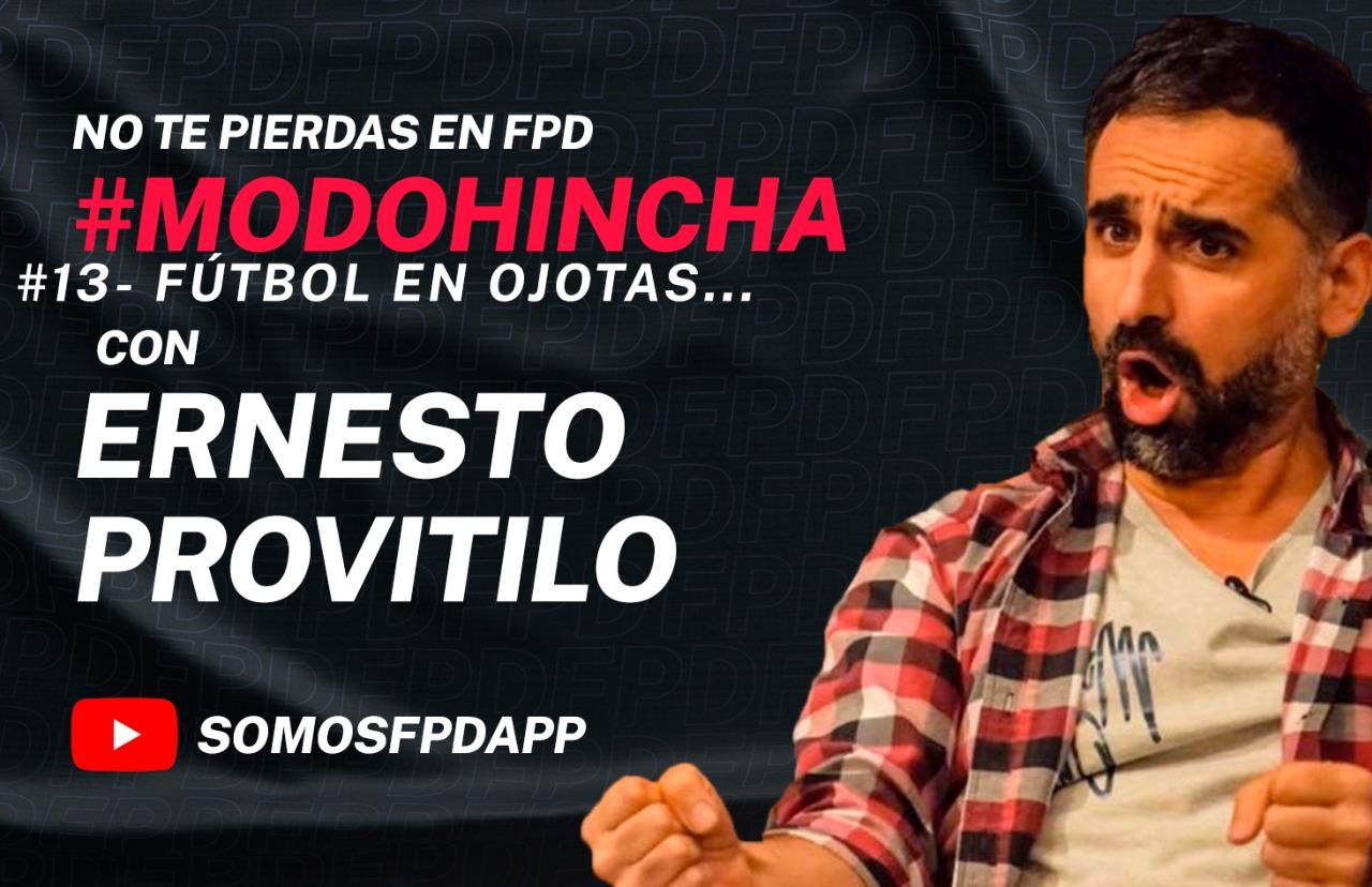 #ModoHincha: Fútbol en ojotas