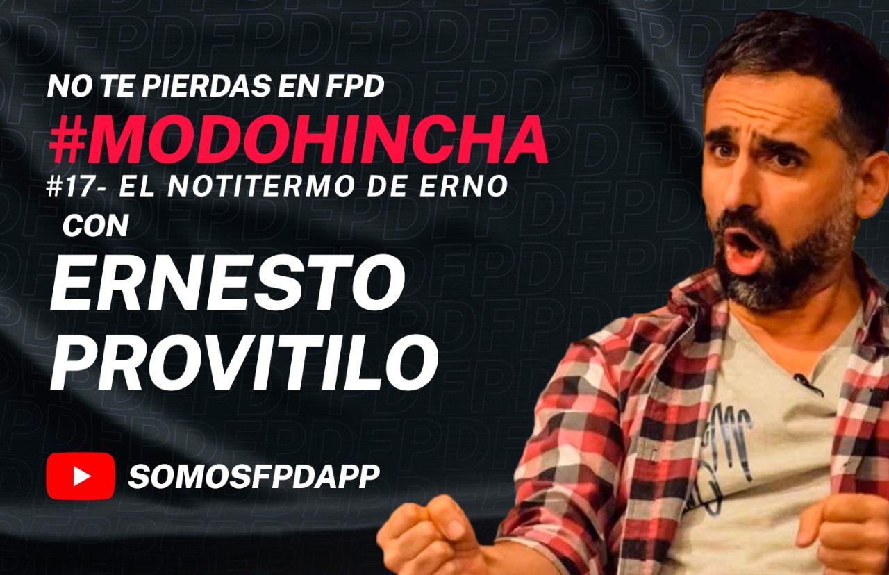#ModoHincha: el notitermo de Erno