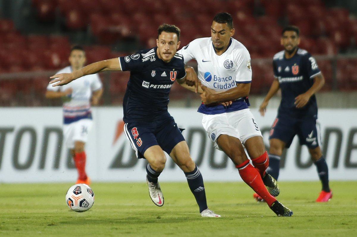 San Lorenzo reaccionó y rescató un empate en Chile