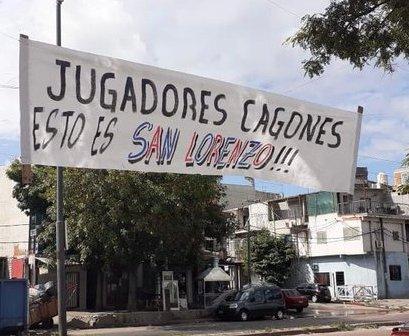 """""""Jugadores cagones, ¡Esto es San Lorenzo!"""""""