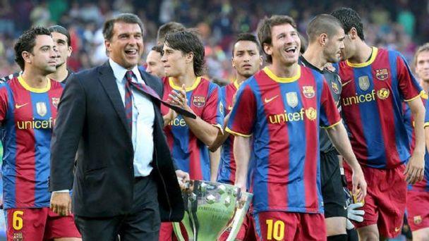 Laporta nuevo presidente del Barcelona
