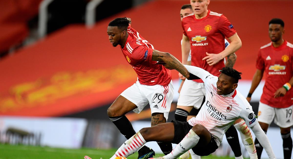 El Milan logró un agónico empate ante el United