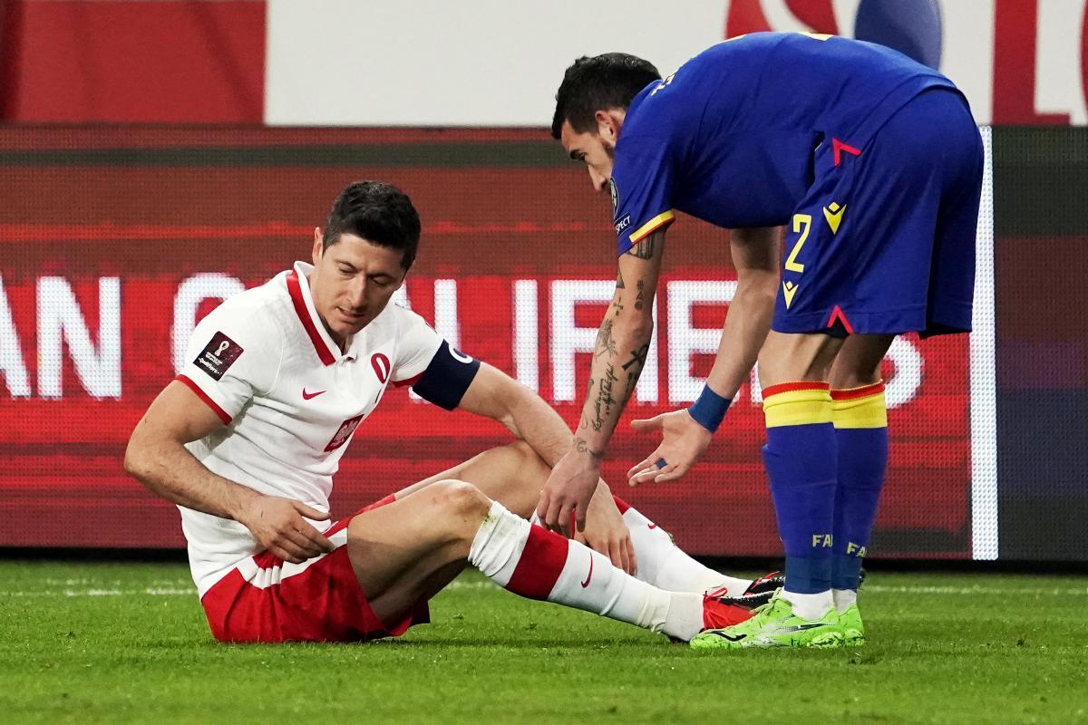 Baja sensible en el Bayern: se lesionó Lewandowski