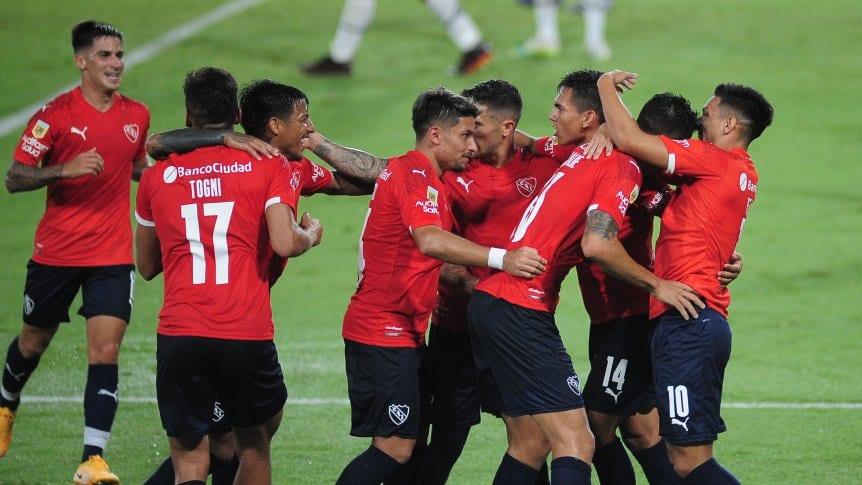 Independiente juega en Brasil
