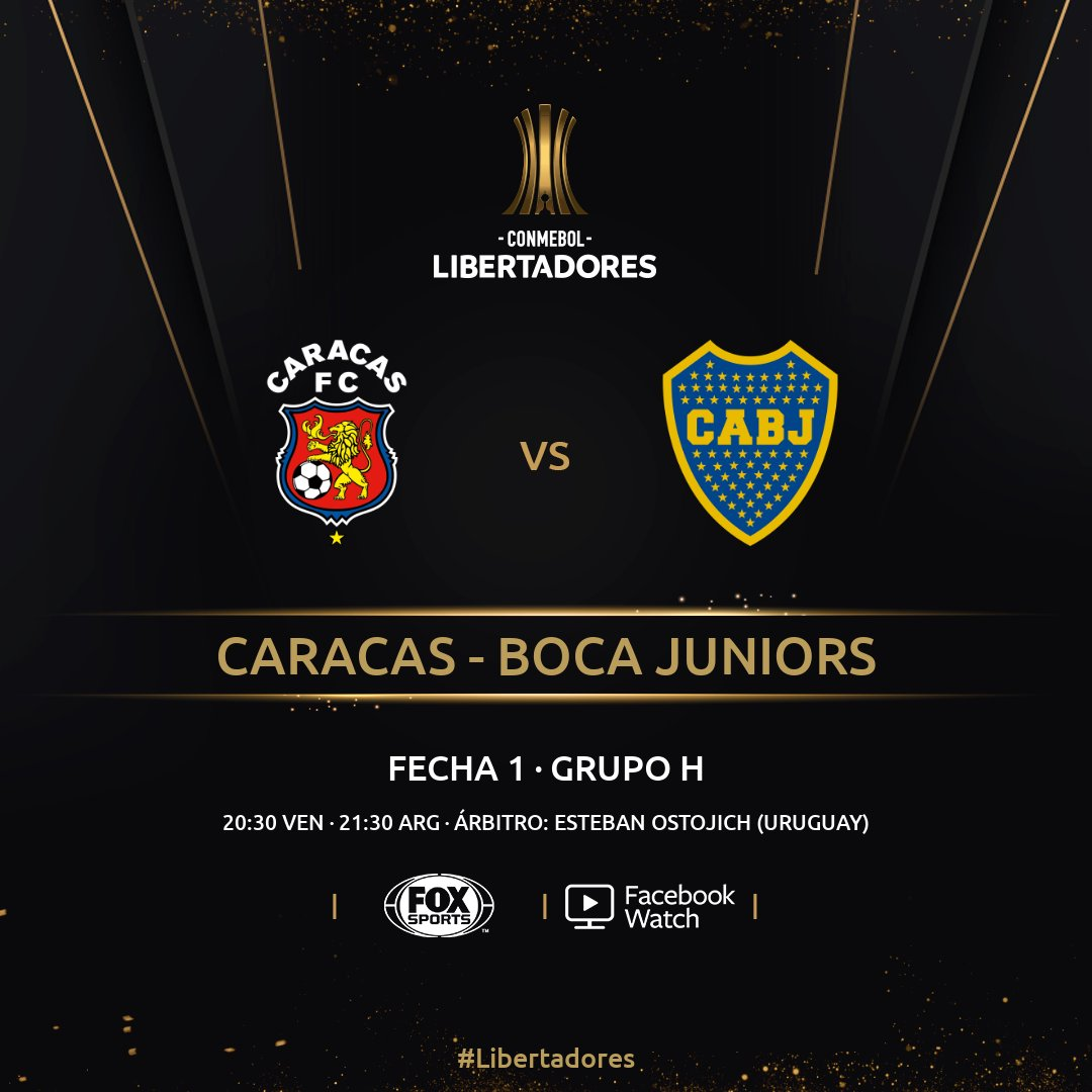 Boca con los once confirmados para el debut en la Libertadores