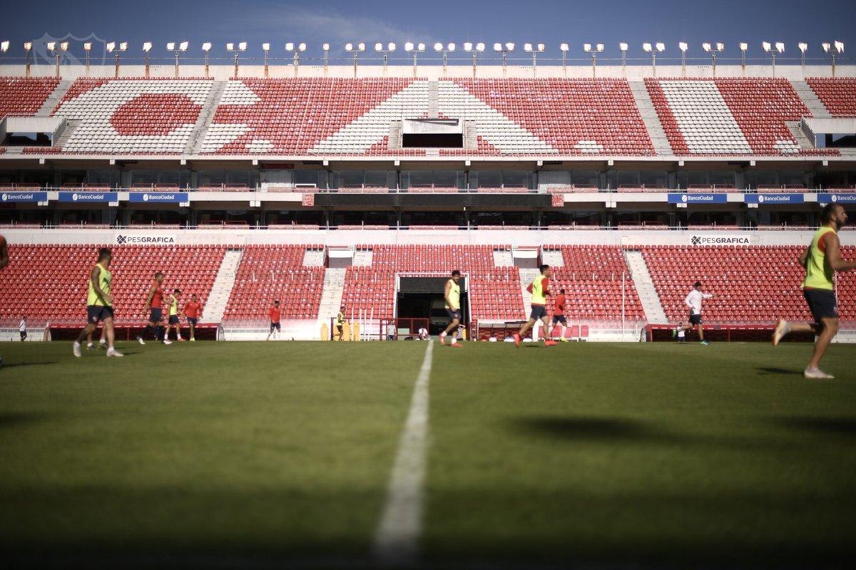 Independiente se prepara para revertir la llave