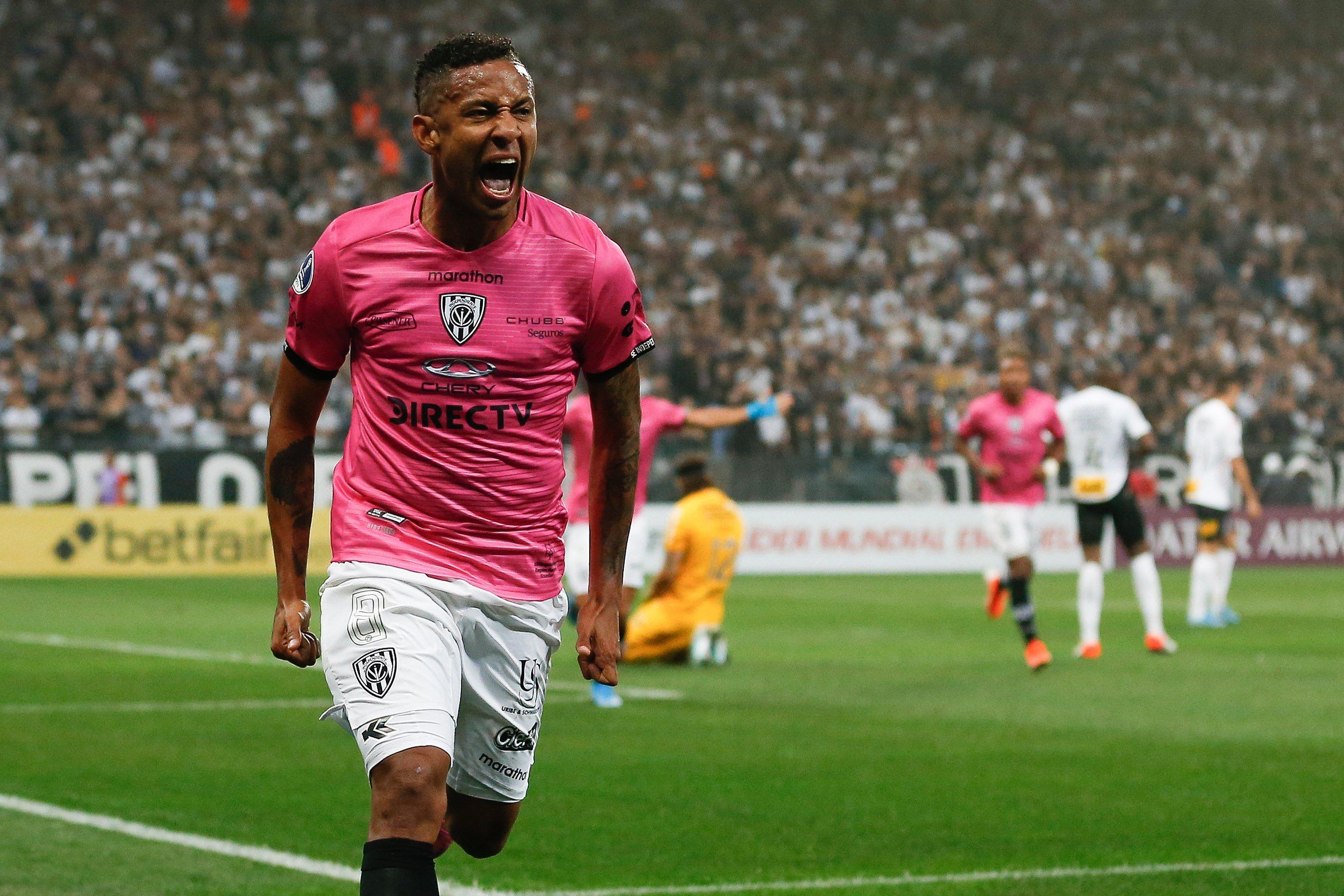 Independiente del Valle sorprendió al Timao en Brasil