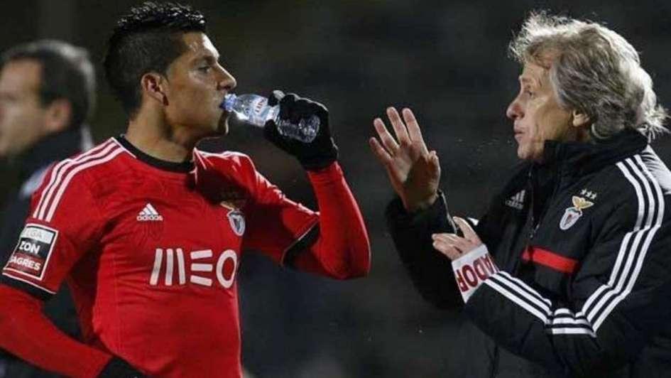 La relación de Enzo Pérez y el DT de Flamengo, su inventor