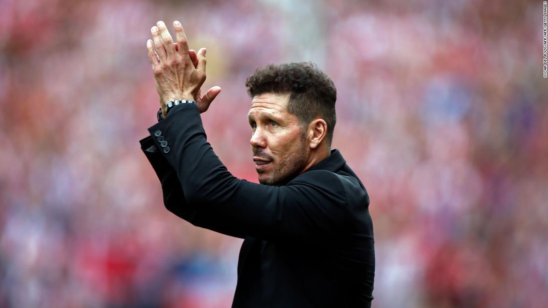 Simeone el mejor entrenador de la década